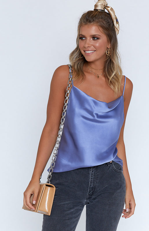 Pippy Cami Steel Blue