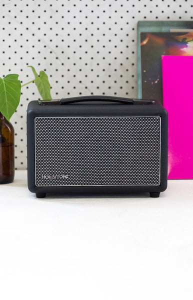 HolySmoke Newnest Bluetooth Retro Speaker Black