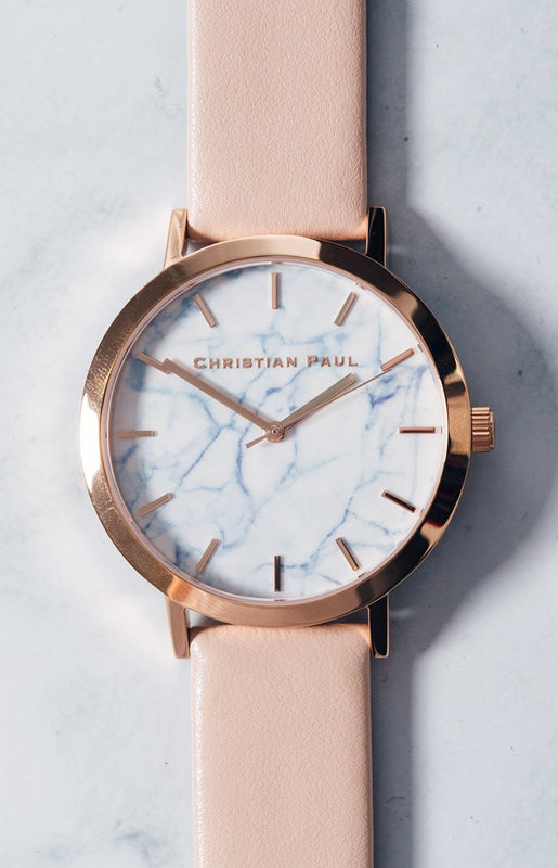 Christian Paul Bondi Marble 43mm Watch