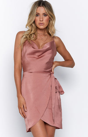 Regina Dress Antique Rose