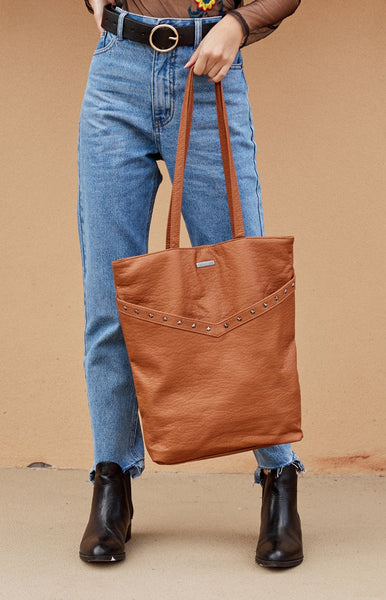 Rusty Idaho Tote Bag Tan