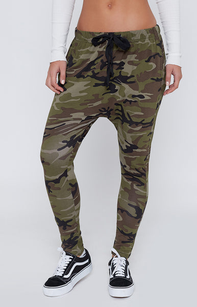Guerrilla Combat Drop Crotch Pants Camo