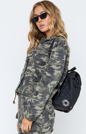 Celine Denim Jacket Camo