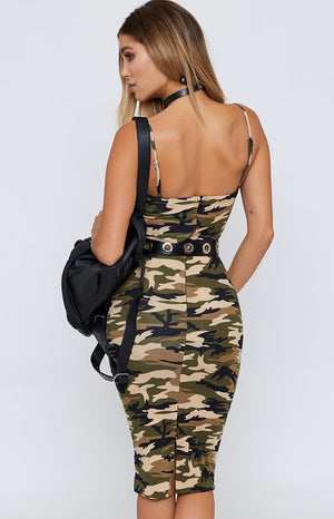Atlanta Dress Khaki