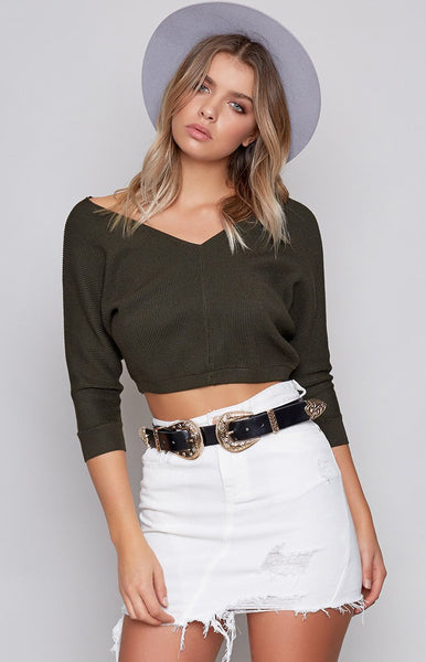Not Now Sweater Khaki