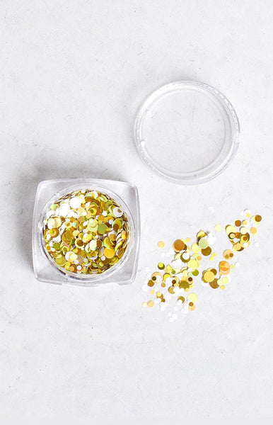 Confetti Gold Mine Glitter Pot