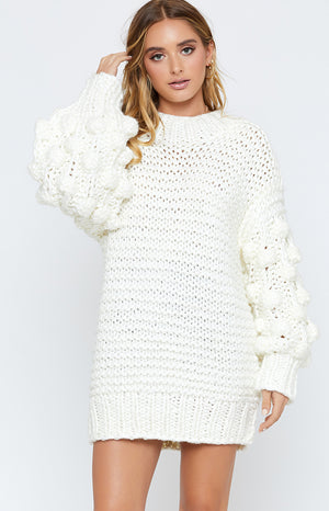 Beautiful Life Knit White