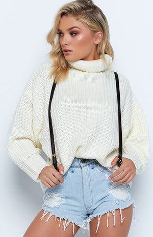 Hillary Oversized Knit Cream