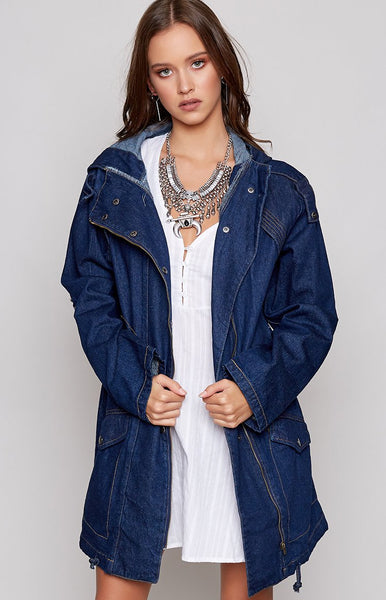 Swish Anorak Dark Denim