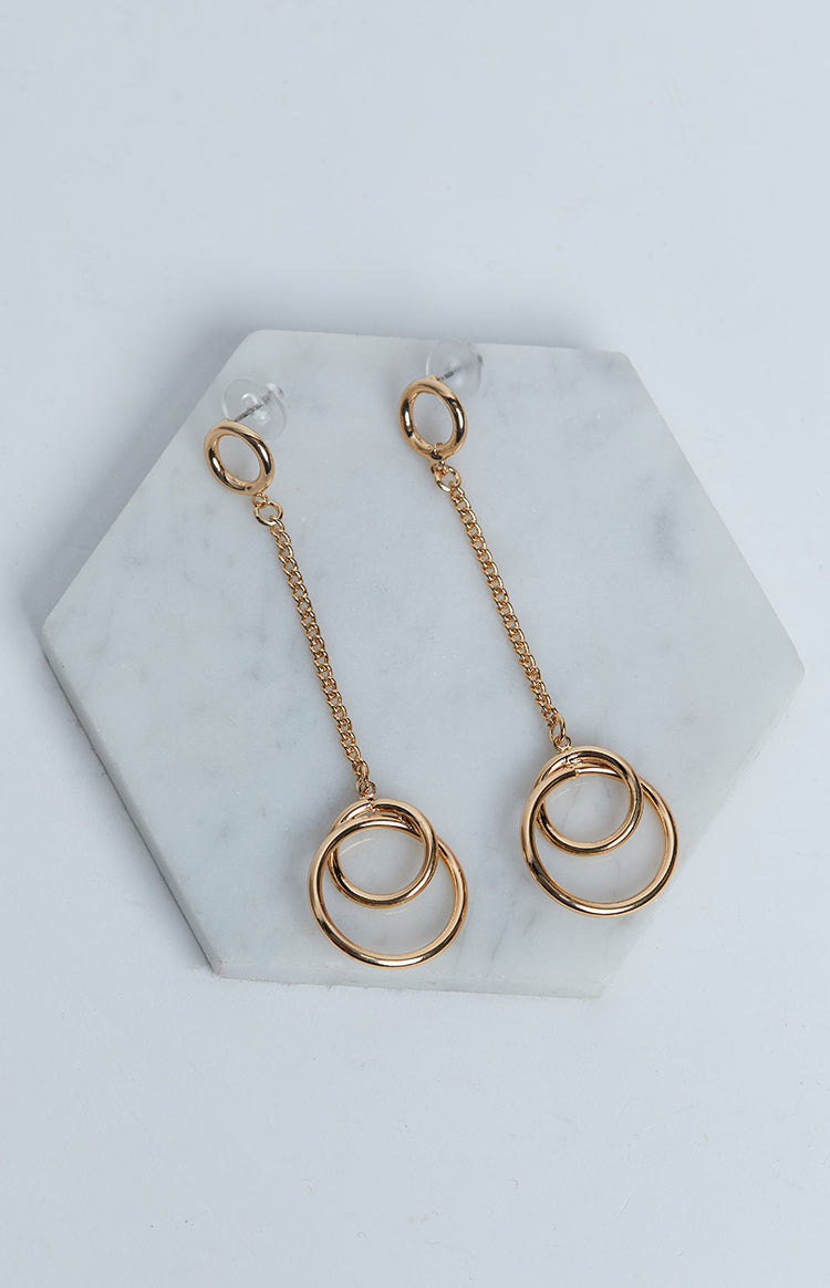 Eclat Broadway Earrings Gold