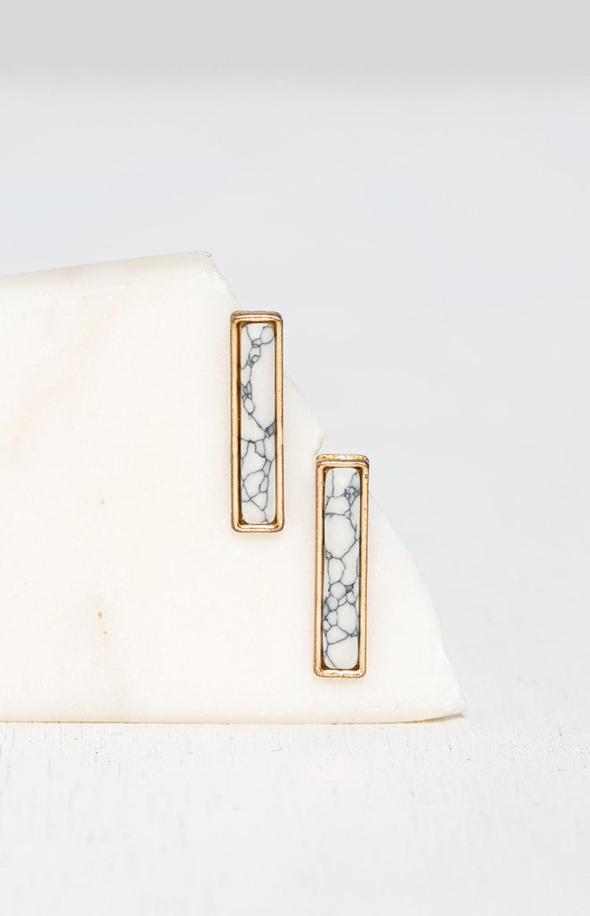 Eclat Lunaire Earrings Gold