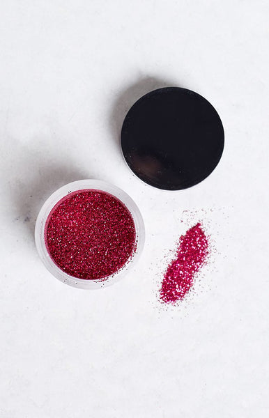 Fairy Dust Magenta Glitter Pot