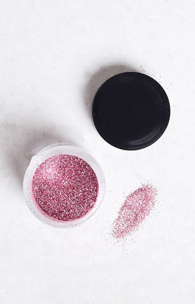 Fairy Dust Pearl Pink Glitter Pot
