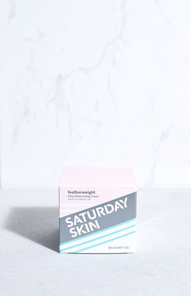 Saturday Skin Featherweight Daily Moisturising Cream