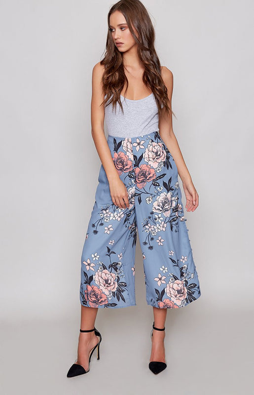 MinkPink Penelope Button Side Culotte