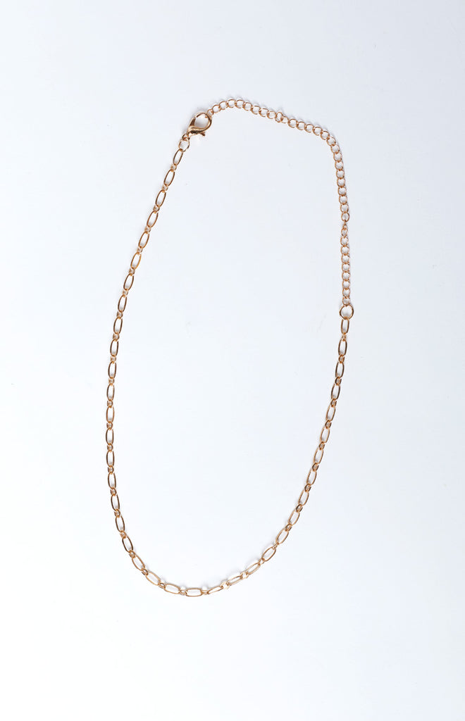 Finer Things Dainty Choker Gold