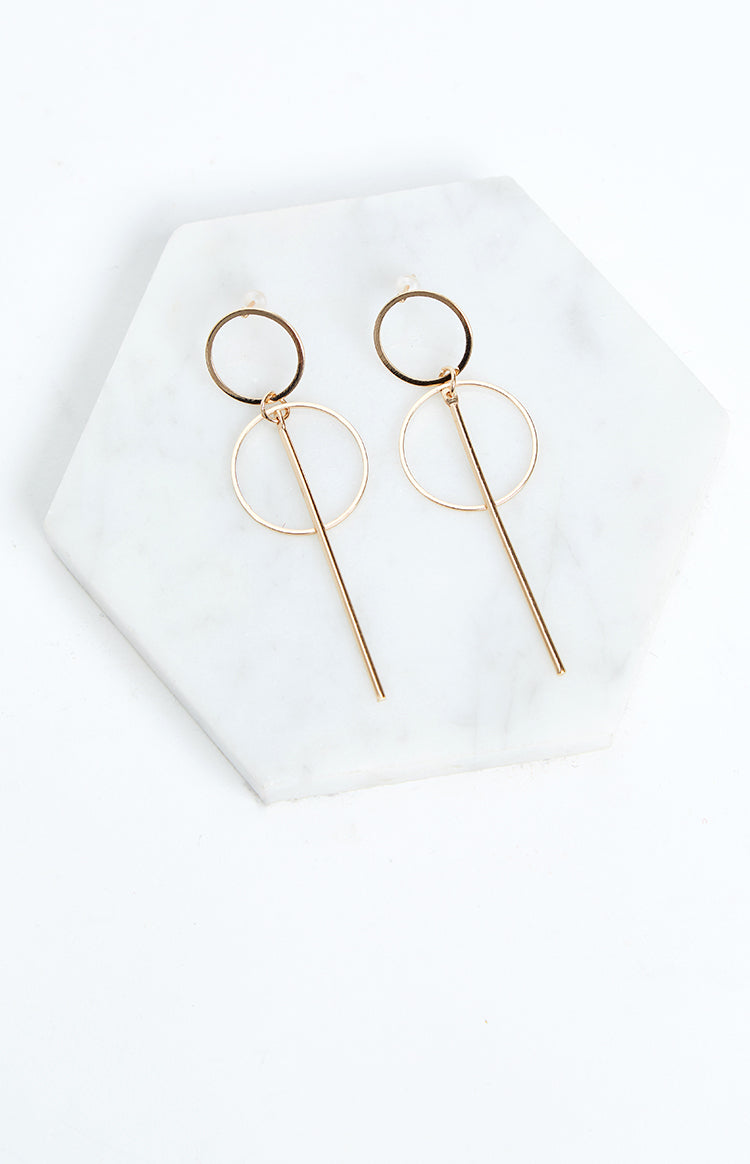 Eclat So Into You Earrings Gold