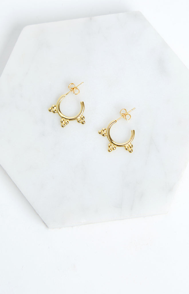 Eclat Giza Earrings Gold