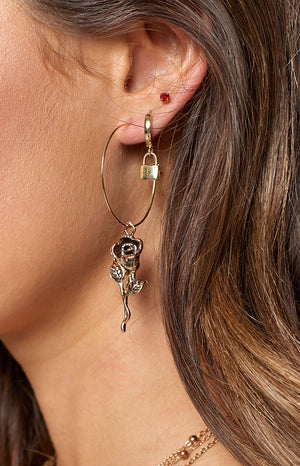 Eclat Not Your Rose Earrings Gold