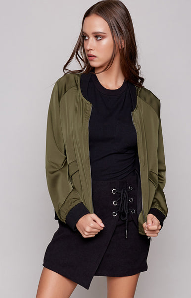 Buzz Bomber Jacket Khaki