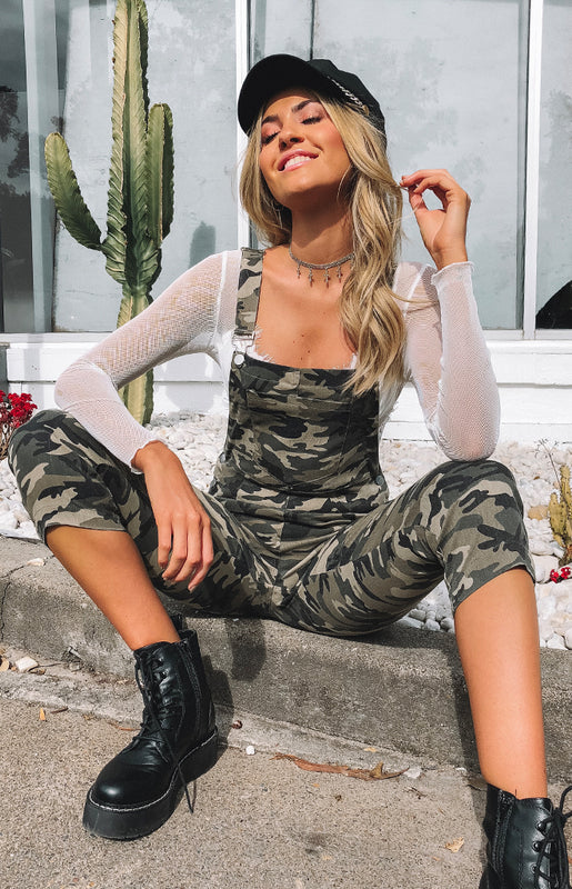 In The Zone Jumpsuit Camo
