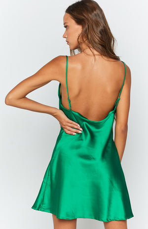 Pippy Slip Dress Green
