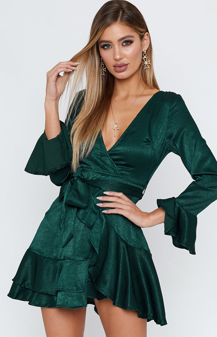 Wonderland Dress Forest Green