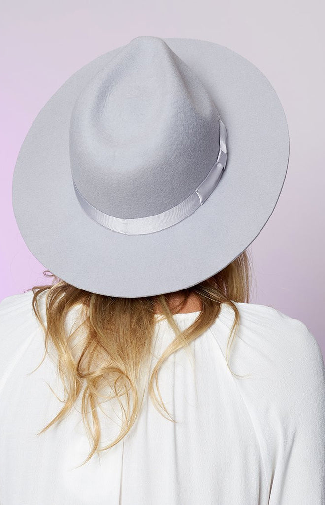Lack Of Color The Silver Haze Fedora