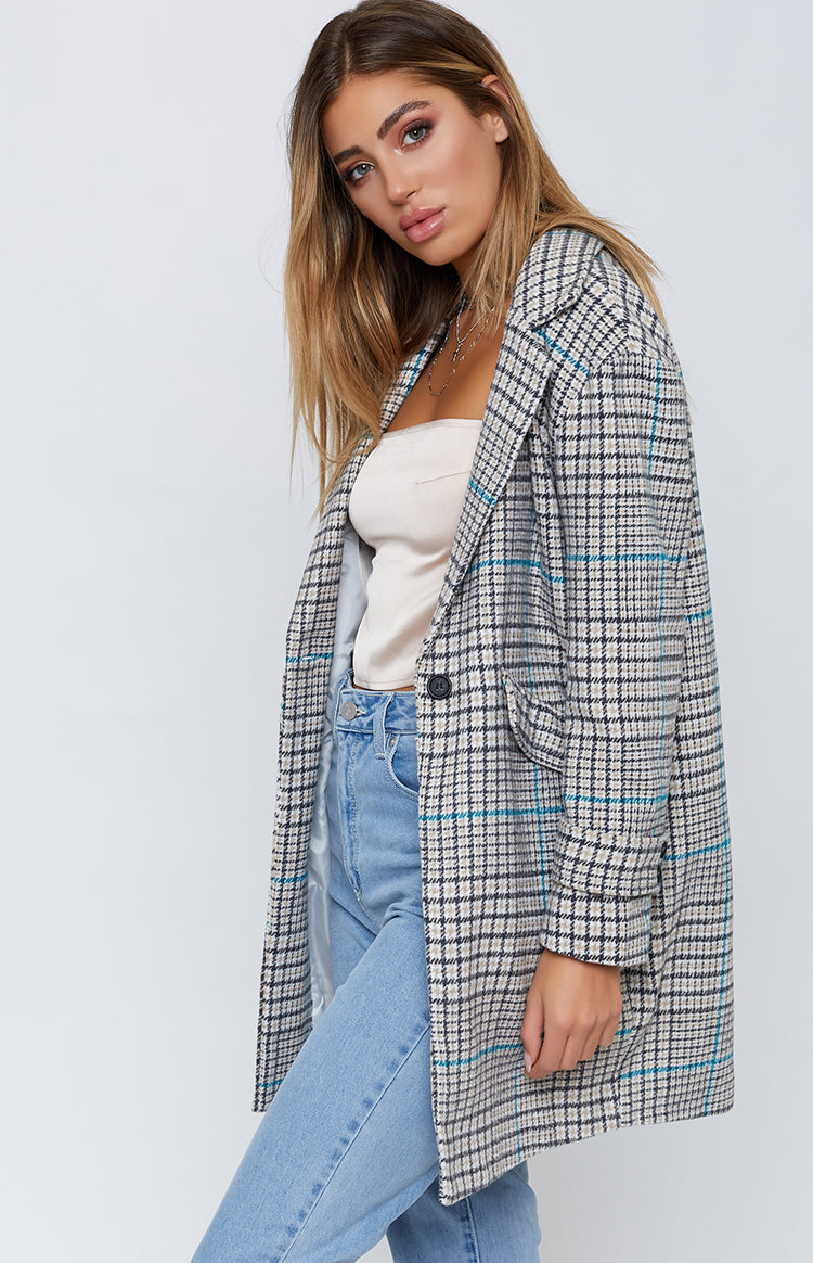 Fifth Avenue Jacket Plaid