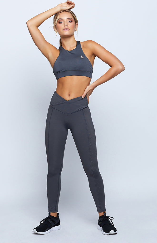 Ryderwear Balance Sports Bra Charcoal
