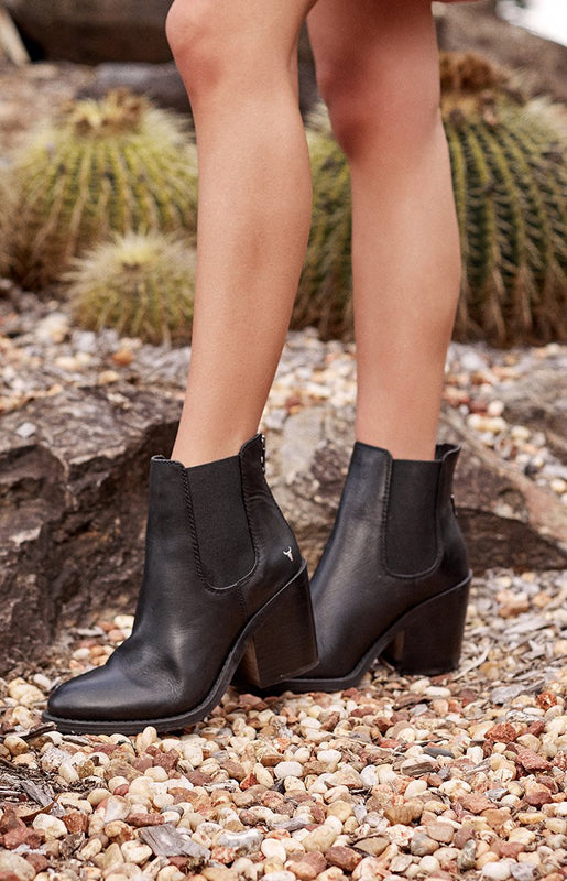 Windsor Smith Mary Boots Black