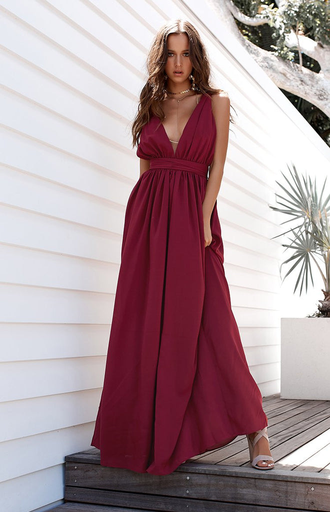 Aurora Formal Dress Raspberry