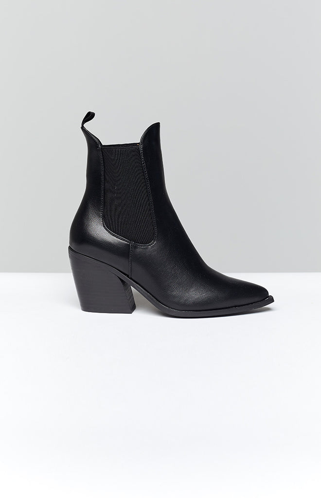 Therapy Josette Boots Black Smooth 21