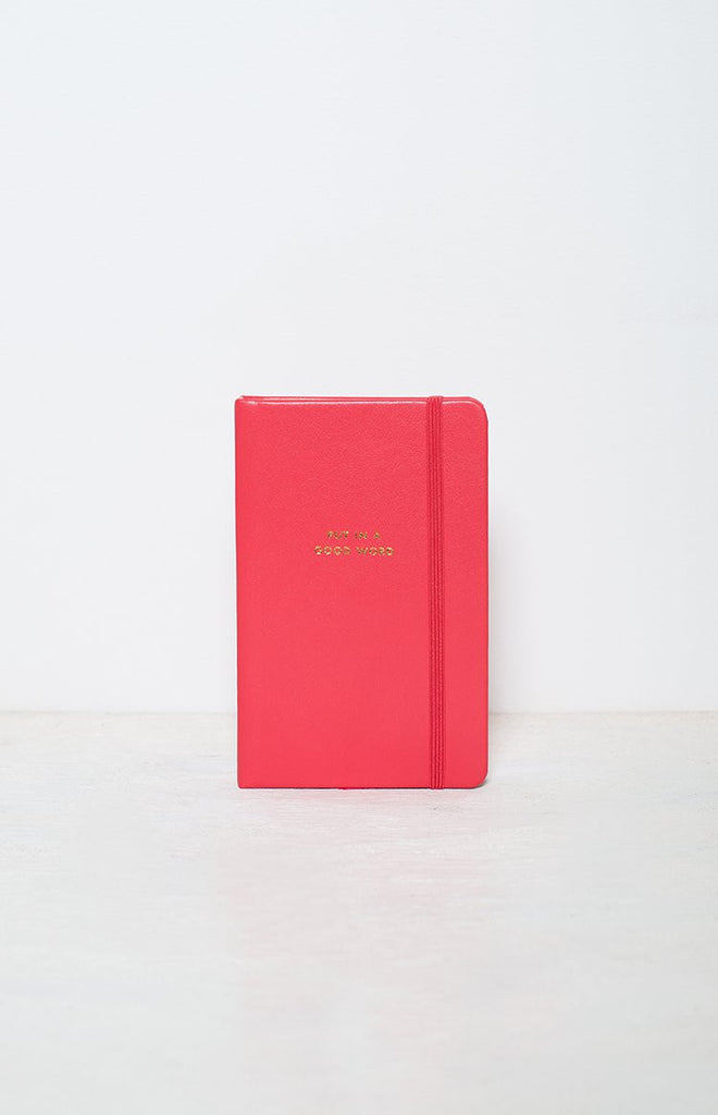 Kate Spade Medium Coral Notebook