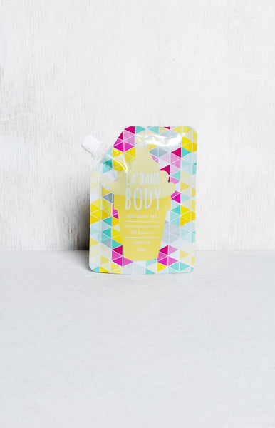 La' Bang Body Nourish Me Hydrating Body Oil Vanilla