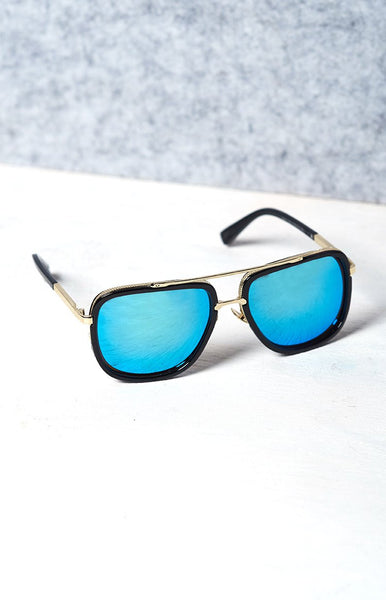 La Lune Hustle Sunglasses Blue