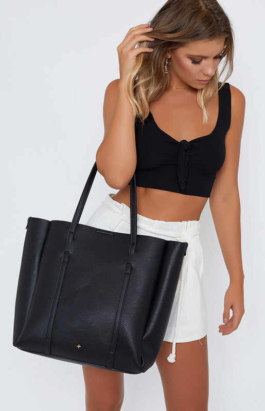 Peta & Jain Harper Bag Black