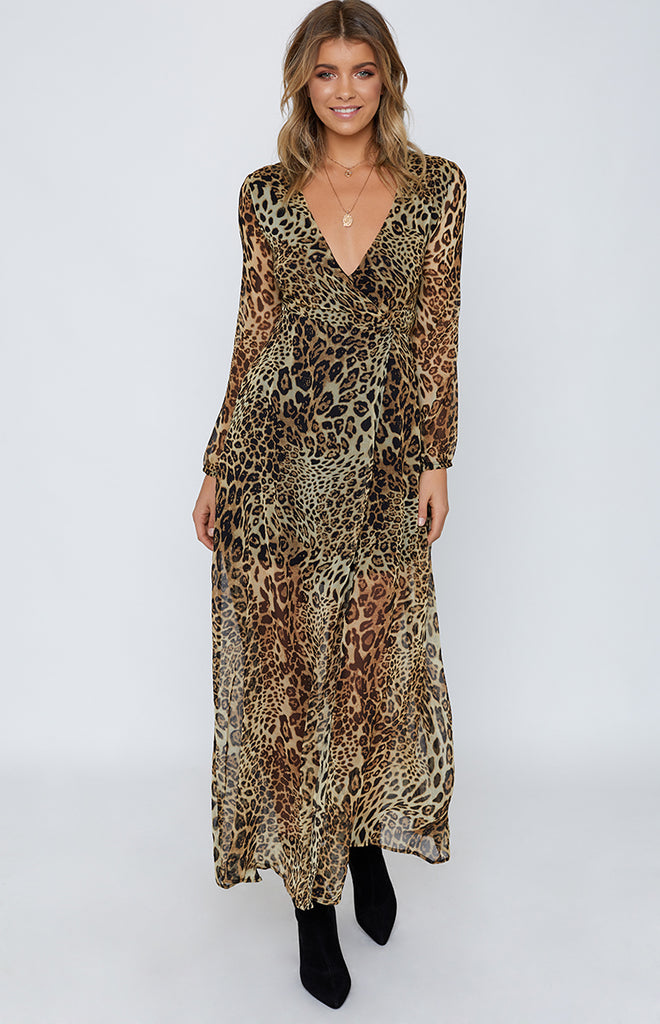 a279e20c35437 Cleopatra Maxi Dress Leopard – Beginning Boutique