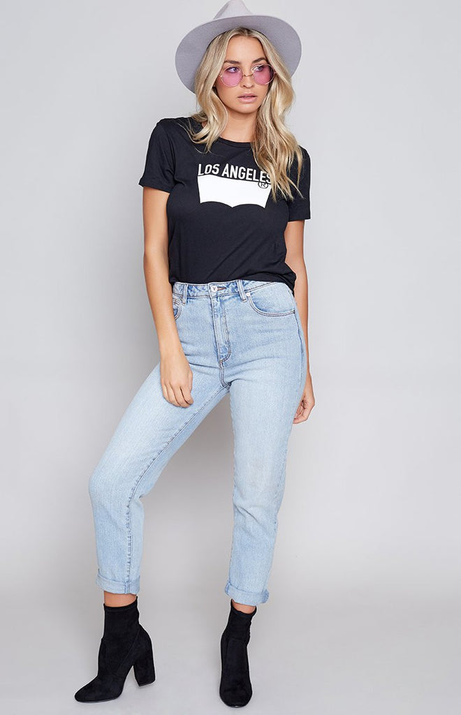 Levi's The Perfect Tee LA Black