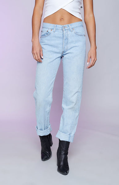 Vintage Levi Jeans Light Blue