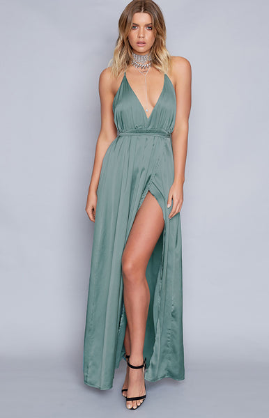 Pandora Formal Dress Dusty Turquoise