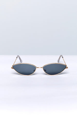 Eclat Back In Time Sunglasses Grey Gold