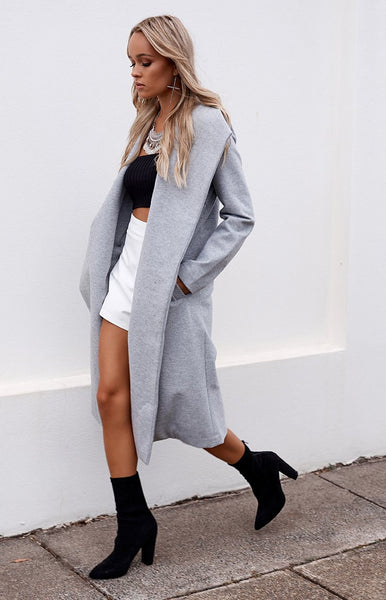 Spencer Trench Coat Grey