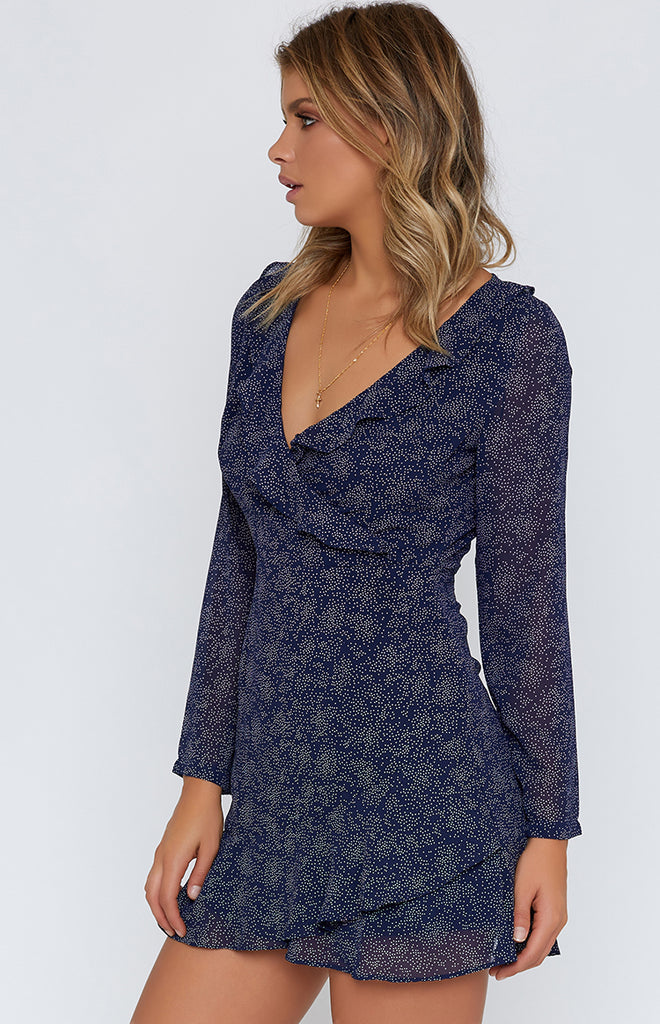 Evening Breeze Dress Navy