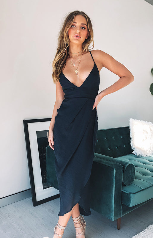 Fight For Love Maxi Dress Navy