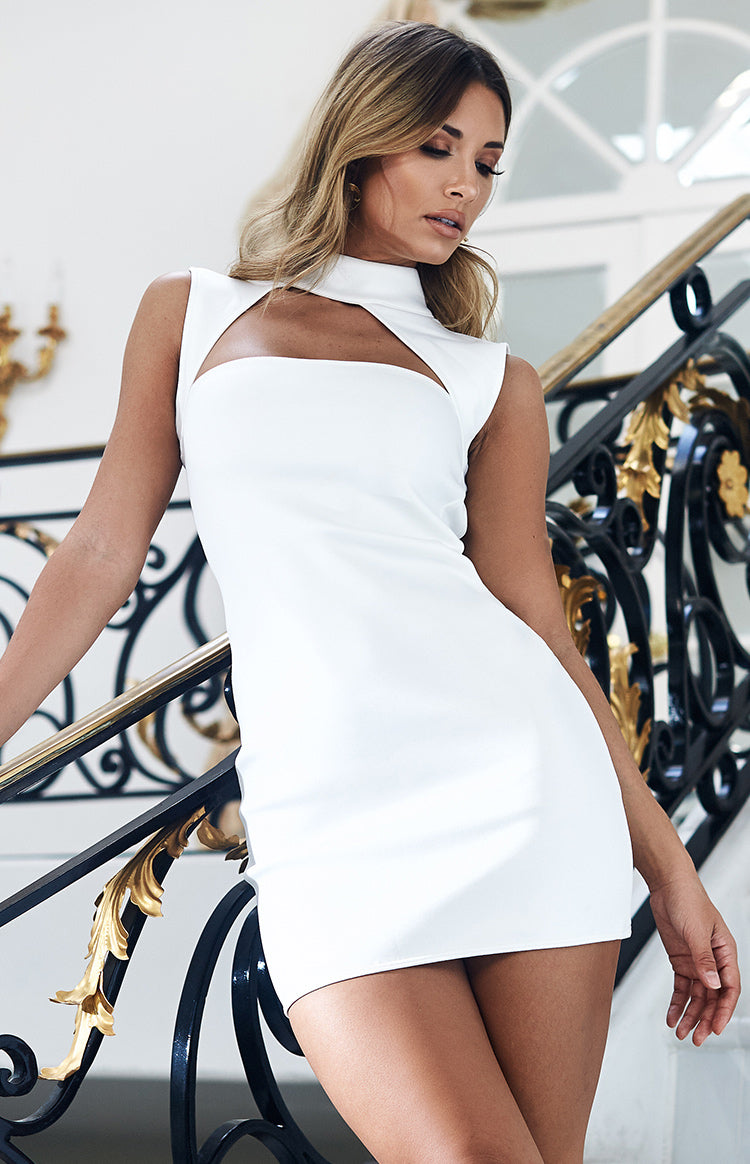 pure lustre dress white