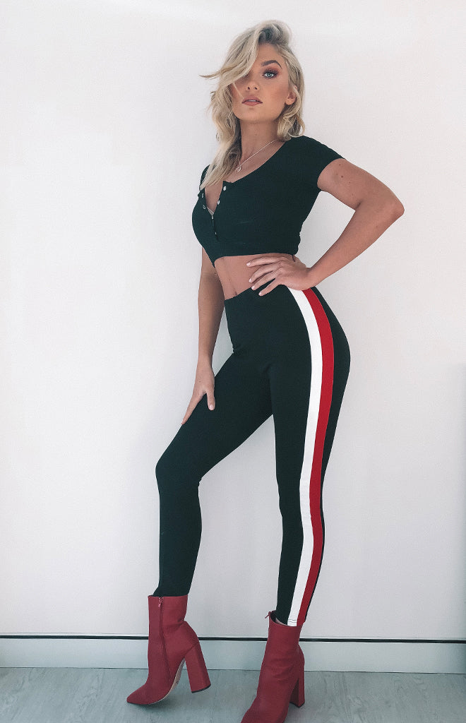 Down Time Leggings Black