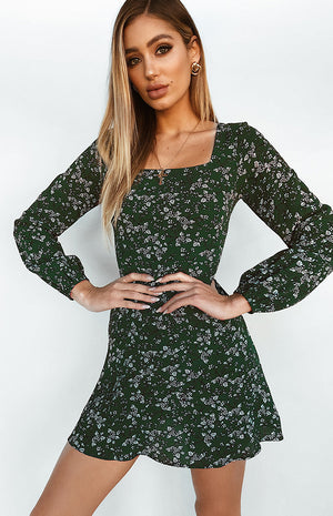 Come To Life Dress Green