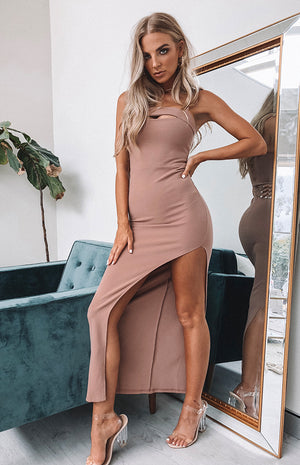 Yasmine Maxi Dress Blush