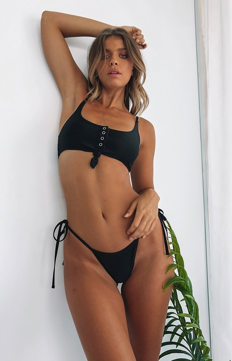 9.0 Swim Rio Knot Top Black